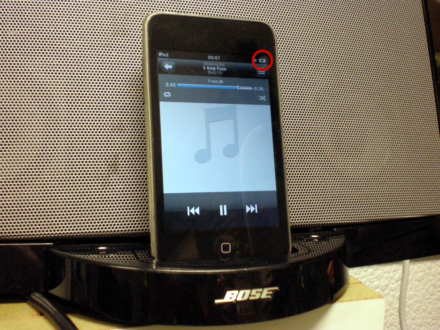 Bose SoundDock series 1 USB power mod @preamp org